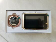 """4.3"""" Doorbell Peephole Viewer 166° Door Eye Security WIFI IR 720P 1MP Camera"""