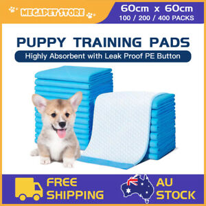 200/400Pk Pet Toilet Training Pads Puppy Dog Cat Pee Pad Indoor Super Absorbent