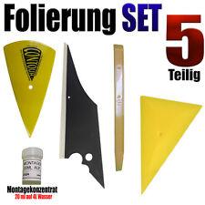 Folierung Rakel Set 5 Teilige Set für Optimale Scheiben Tönung - Auto Folien