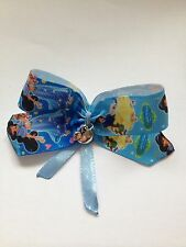 SNOW WHITE & PRINCESS JASMINE Inspired  HAIR BOW COMPLETE WITH APPLE BEAD CHARM