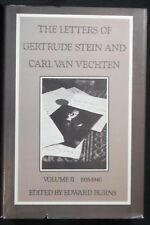The Letters of Gertrude Stein and Carl Van Vechten, vol 2 HB/DJ 1st ed. FINE/VG+