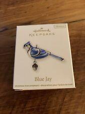 Hallmark Keepsake Ornament 2012 Blue Jay Beauty of the Birds Miniature Mini