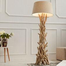 Treibholz Stehlampe CARA 155 cm sand Stehleuchte Leuchte Lampe Holz