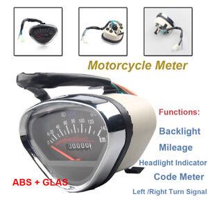 Motorcycle Digital Backlight Odometer Speedometer Tachometer Turn Signal Display