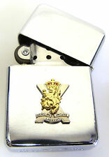 ROYAL REGIMENT OF SCOTLAND  WINDPROOF CHROME PLATED LIGHTER