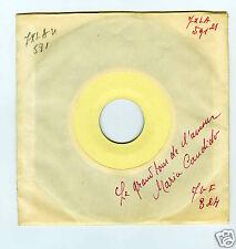 45 RPM SP TEST PRESSING MARIA CANDIDO LE GRAND TOUR DE L'AMOUR