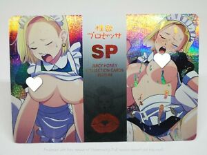 DRAGON BALL Z DBZ H7 C-18 ANDROID FAN CARD PRISM HOLO CARTE SEXY NEUF MINT #127