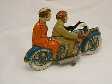 Tippco motorcycle motorrad 689 1930s Germany art deco tin toy