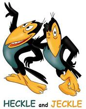 Heckle and Jeckle # 10 - 8 x 10 - T Shirt Iron On Transfer