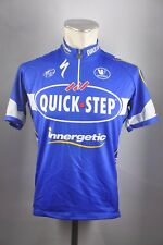Quick Step Vermarc UCI equipo Cycling Jersey bici bike rueda camiseta talla L 56cm u7