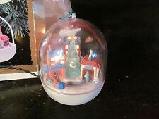 Last Minute Shopping 1993 Hallmark Christmas Ornament Light & Motion