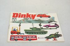 DINKY TOYS CATALOGUE 10 1974 UK MINT CONDITION