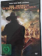 9 Western - Die größten Westernhelden - Buffalo Bill, Jesse James, Billy the Kid