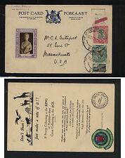 South  Africa  stamp  dealer   card, ad in stamp selvage       KEL0413