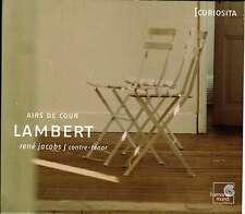 MICHEL LAMBERT  airs de cour  JACOBS - JUNGHANEL - KUIJKEN