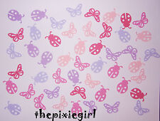 MARTHA STEWART LADYBUG AND BUTTERFLY PUNCHES DIE CUTS GIRLY COLORS