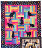 Lap Kitties - applique & pieced quilt PATTERN - perfect for cat lovers