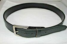 """Harley-Davidson Men's Tradition Bar & Shield Belt Black Leather Sz 34 1 3/8"""" wid"""