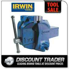 IRWIN Record 100mm Engineers Bench Vice 1ton-e-b