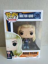 Funko Pop Doctor who Rose Tyler # 295- Exclusive- VER FOTOS - SEE PHOTOS