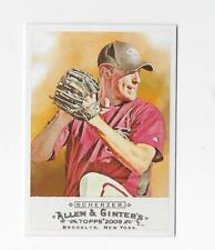 2009 Allen & Ginters Max Scherzer #160 Arizona Diamondbacks NRMT-MT