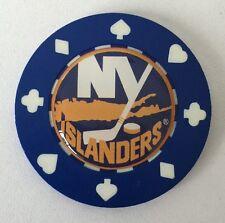 New York Islanders Poker CHIP CARD GUARD WSOP, Poker Weight NHL Poker Chip
