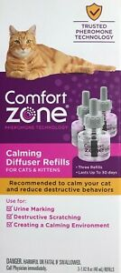 COMFORT ZONE Calming Diffuser Refills 3pack for cats & kittens