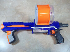 Nerf N-Strike Elite Rampage Blaster w25 Round Drum Magazine & 16 Suction Darts