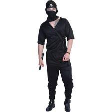 Adult Men Ninja Halloween Party Cosplay Carnival Costume Us Shipping