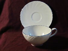 Lenox Fine China Weatherly Cup And Saucer Set D 517