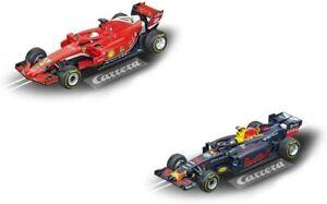 Carrera GO!!! Ferrari SF71H Vettel No.5 + Red Bull Racing RB14 Verstappen No.33
