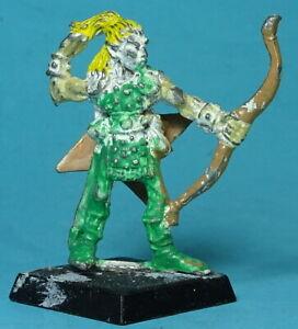 CITADEL - Elves - RRD4 Skarloc's Wood Elf Archer - Trooper (f) Metal - Warhammer