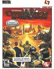 Civilization IV 4 Beyond the Sword STEAM PC Key Code Neu [DE] [EU]