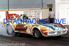 """Lil' John Lombardo"" 1969 Chevy Corvette Roadster NITRO Funny Car PHOTO! #(3)"