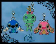 Disney Lilo & Stitch metal & enamel pet cat dog collar charms charm