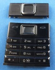 ORIGINALE Nokia 8800 arte BLACK NERO TASTIERA KEYPAD TASTIERA Tappetino NUOVO NEW