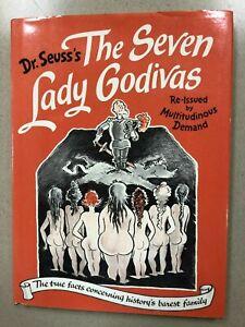 Dr. Seuss's The Seven Lady Godivas 1987 Reprint First Edition
