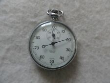 Swiss Made Vintage Galco Decimal Mechanical Wind Up Stop Watch Stopwatch