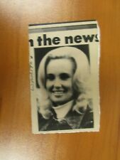 Vintage Wire AP Press Country Singer Tammy Wynette Stand By Your Man, Divorce #1