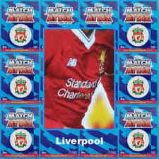 Premier League Liverpool Football Trading Cards Set