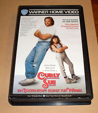 VHS - Curly Sue - Komödie von John Hughes - James Belushi - Videokassette