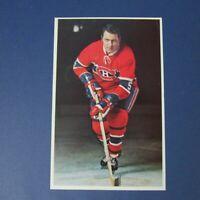 Montreal Canadiens  GILLES TREMBLAY  1969-70  color postcard 1970  1969   RARE
