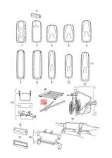Genuine Bike Racks Outer VW Beetle CC e-Golf Golf R32 GTI Rabbit 7M0071128D