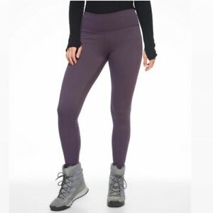 NWT Athleta Alpine Valley Tight Fleece Lined Regal Plum Primaloft XS Extra Small