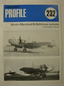 Profile #232 Martin Maryland & Baltimore Variants: France, Vichy, Camouflage WW2