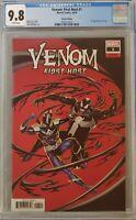 Venom First Host #1 CGC 9.8 1st App Kel-Tar 1:50 Cassaday Variant Marvel