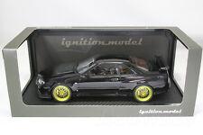 ignition 1/18 IG0185 NISSAN R34 GT-R V spec ll Black BBS LM SKYLINE hpi