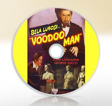 Voodoo Man (1944) DVD Classic Horror Film / Movie Bela Lugosi John Carradine