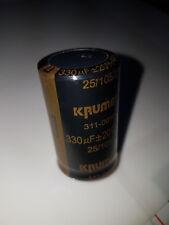Elektrolyt Kondensatoren, Snap-In, 330uF 450V 105°C Hochstrom-Typ neu ovp 50 Stk