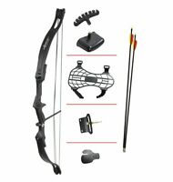 CROSMAN Elkhorn Pre-teen Compound Bow with 2 – 26″ Arrows